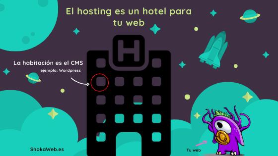 Diseño de paginas web. Monstruito shokaweb