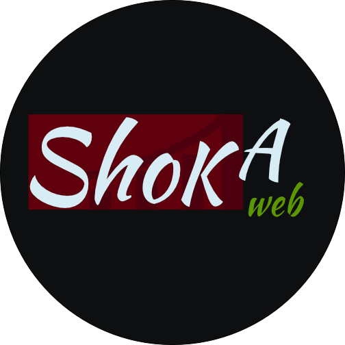 logo shokaweb Diseño web