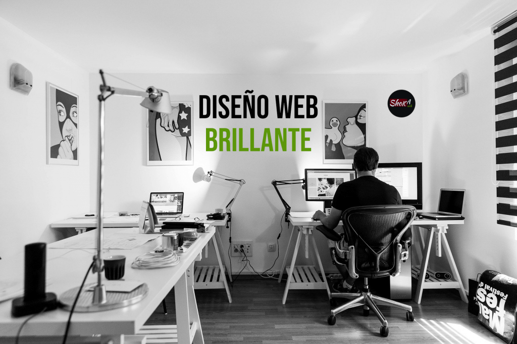 Diseño de web brillante en madrid