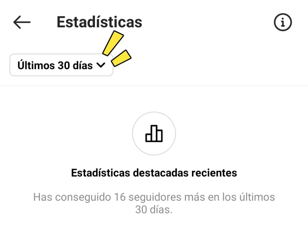 entender las estadísticas de instagram